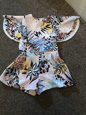 River Island Mini Baby Girls Playsuit Age 9-12 Months Gorgeous