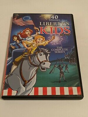 LIBERTY'S KIDS The Complete Series! 40 Episodes! Children's History Series!