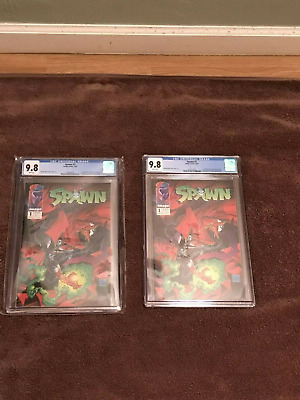 Spawn #1 - Todd McFarlane - 1st Appearance of Spawn - CGC Grade 9.8 - 1992