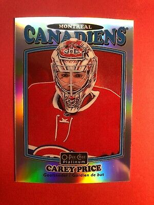 2016-17 O-Pee-Chee Platinum Retro Rainbow  Parallel Insert #R40 Carey Price