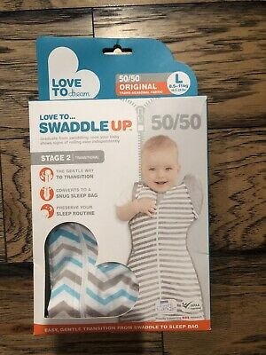Love To Dream Swaddle Up 50/50 Original Large Brand New