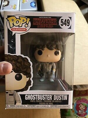 🐱Funko POP! Television: Ghostbuster Dustin #549 Stranger Things