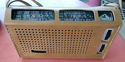Vintage  -H.M.V-  Capri Radio. Selling As Not Working