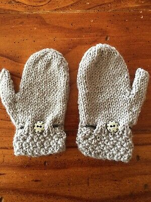 Toddlers Mittens Wool