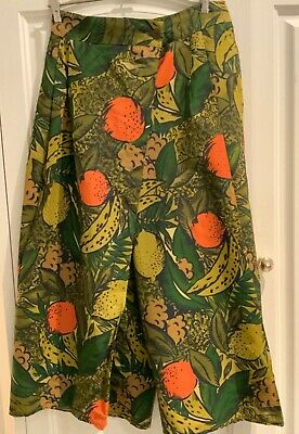 Gorgeous as new Vintage Divided Skirt/culottes- 80s by Adam Bennett