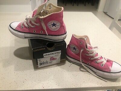 Converse All Star Chuck Taylor Kids Shoes Size Us12 Pink