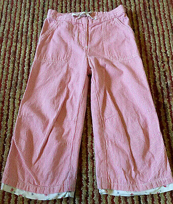 Girls Crop Trousers By Boden Age 7-8