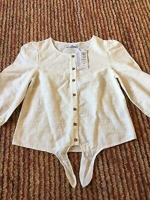 Girls Top By Marks And Spencer Size 10-11 Brand New With Tags