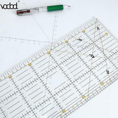 Patchwork Ruler Craft Feet Tailor Quilting Tools  Acrylic Material 60*15 cm