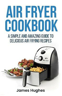 Air Fryer Cookbook Simple and Amazing Guide To Delicious Frying Recipes Book NEW