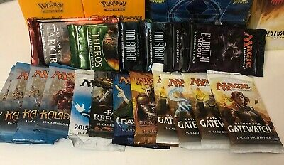 Magic the Gathering Booster Pack Lot Of 20 Kaladesh , Theros, Gatewatch Mtg