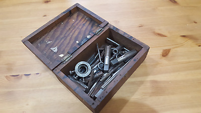 Job lot of Assorted Taps & Dies Boxed 22713