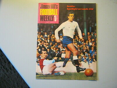 JIMMY HILL'S FOOTBALL WEEKLY  17th NOVEMBER 1967