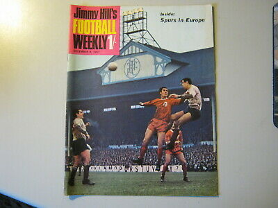JIMMY HILL'S FOOTBALL WEEKLY  8th DECEMBER 1967