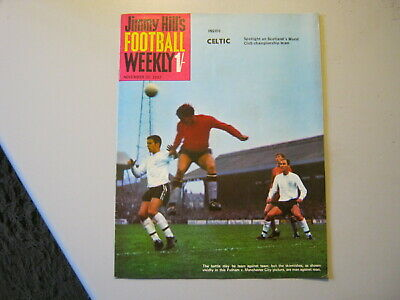 JIMMY HILL'S FOOTBALL WEEKLY  10th NOVEMBER 1967