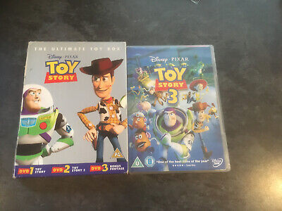 Toy Story 1-3 - Collection (DVD, 2010, 3-Disc Set