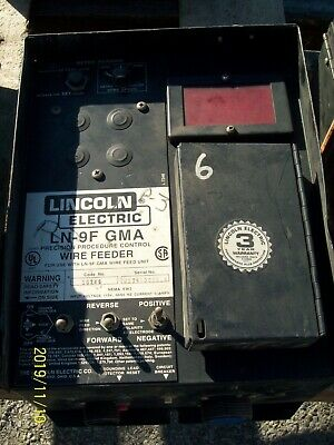 Lincoln Ln-9F  Gma Wire Feeder  Welder 6