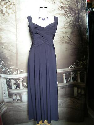 Phase Eight Long Dress/BallGown size 12 Stretch Evening Cocktail Formal Purple?
