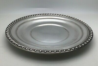 Antique Sterling Silver Numberd Tray by Wallace Vintage H108
