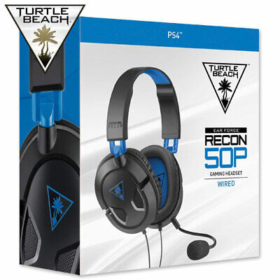 Official Turtle Beach PS4 Headset Chat Gaming 50P NEW & SEALED Ear Force Recon