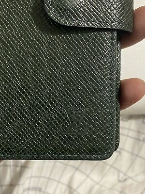 Louis Vuitton Agenda PM Green Taiga