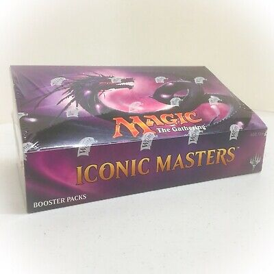 Magic the Gathering MtG ICONIC MASTERS Booster Box * FACTORY SEALED
