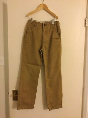 boys trousers tan marks and spencer 10-11