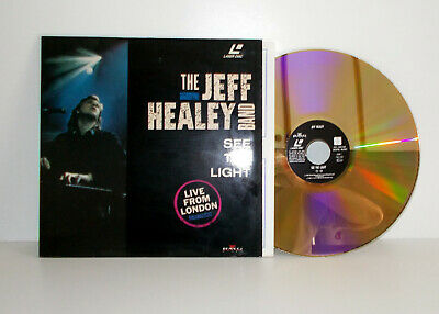 JEFF HEALEY BAND - See the light Live from London - Laser Disc PAL - EX/EX