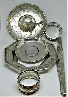 Solid Silver Scrap or Use all Good to fair as seen Good weight too of 173 Grams