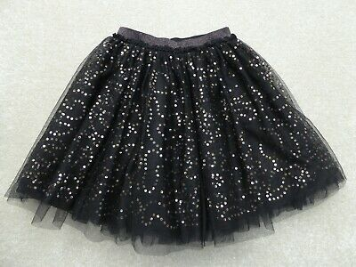 TU Pretty Black Party Skirt Size 10 (9-10 Years) Excellent Condition