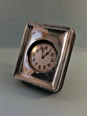 Vintage Brevets Sphinx Swiss Made Timepiece With Hallmarked Silver Front Holder