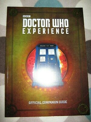 Doctor Who Experience Cardiff - OFFICIAL COMPANION GUIDE BOOK - BRAND NEW UNREAD