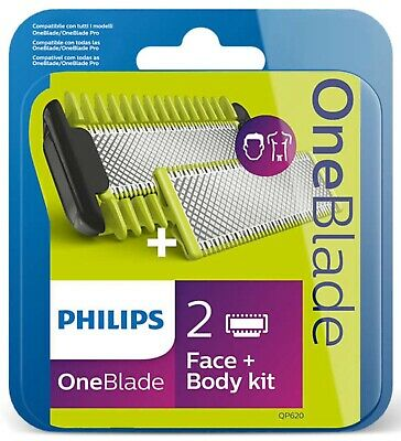 Philips One Blade Qp620/50 Kit Visage + Corps - Neuf -
