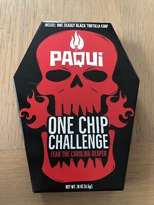 Paqui One Chip Challenge. Carolina Reaper. Sold Out! Worlds Hottest Genuine