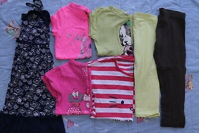 Girls Clothes Bundle Age 6 7 Years H&M Next M&S Hello Kitty Primark