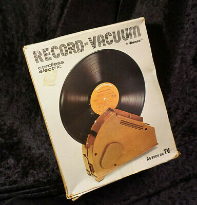 Ronco Vacuum Record Cleaner - As seen on TV