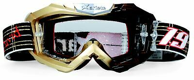 Halcyon Goggles MK10 Curved Lens Chrome//Black One Size Unisex