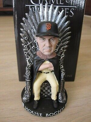 SF Giants Bruce Bochy Game Of Thrones House Of Bochy Bobblehead SpEvent 5/20/19