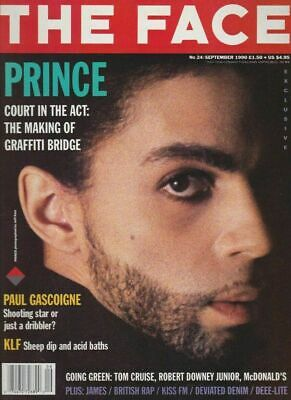 The Face Magazine Prince 1990 David Sims The KLF Corinne Day