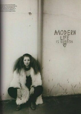 Kate Moss by Corinne Day - The Face Magazine - Modern life is rubbish