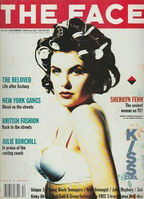 The Face Magazine 1990 Sherilyn Fenn The Beloved Lorraine Pascale