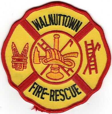 Walnuttown Rescue Berks County Pennsylvania PA Fire Company Department Patch