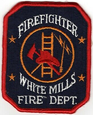 White Mills Wayne County Pennsylvania PA Fire Company Department Patch