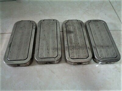4 Vintage Rolls Razor Made in England 1927 Sheffield Steel