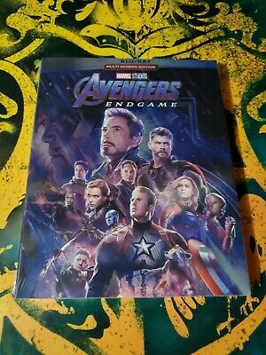 Avengers End Game (Blu-Ray, 2019) Brand New and Sealed USA Seller