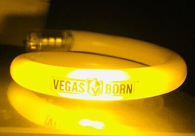 Vegas Golden Knights 10/2/19 Home Opener Giveaway vs. Sharks Lighted Bracelet
