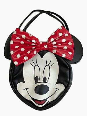 H&M Minnie Mouse Disney Purse Bag Handbag Face with Bow Girls Children's Kids