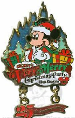 Disney Pin 66337 WDW Mickey's Very Merry Christmas Party 2008 Santa Mickey LE