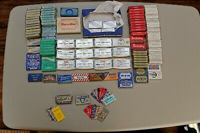 Safety Razor Blade Collection: Gillette, PAL, Sheffield and Many More