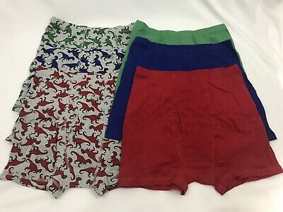 New Hanna Andersson Boys 3 Pack Boxer Underwear Holiday Penguin Gnome S M XL